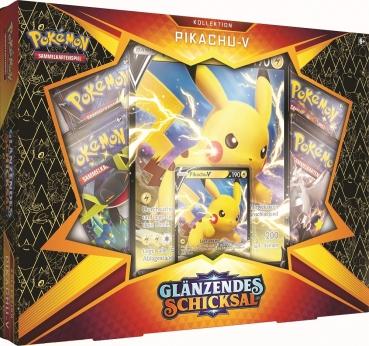 Pokémon Glänzendes Schicksal Pikachu-V Box - Deutsch