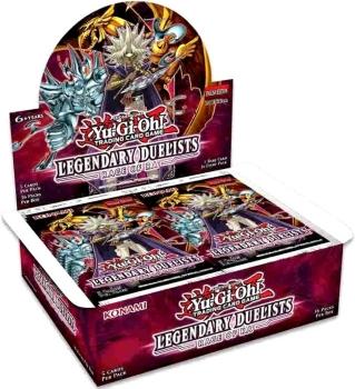 Yu-Gi-Oh! Legendary Duelists: Rage of Ra Booster Display - Deutsch & 1.Auflage