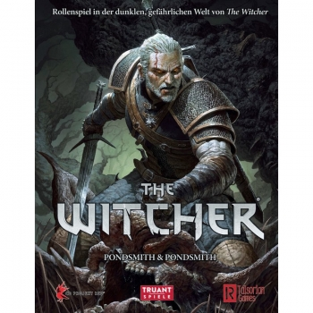 The Witcher Rollenspiel Grundregelwerk - Deutsch