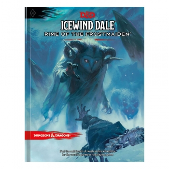 Dungeons & Dragons RPG Adventure Icewind Dale: Rime of the Frostmaiden Englisch