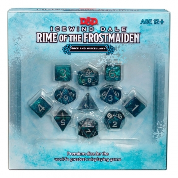 Dungeons & Dragons  Icewind Dale: Rime of the Frostmaiden RPG Würfel Set