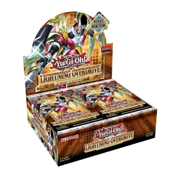 Yu-Gi-Oh! Lightning Overdrive Booster Display - Deutsch & 1.Auflage