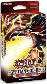 Structure Deck Egyptian God Deck: Slifer the Sky Dragon - Deutsch & 1.Auflage