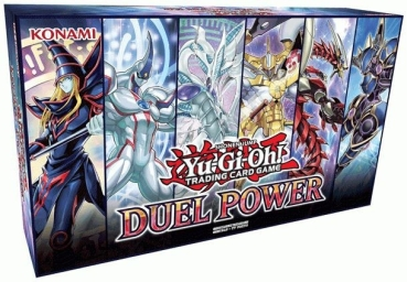 Yu-Gi-Oh! Duel Power Box - Deutsch & 1. Auflage