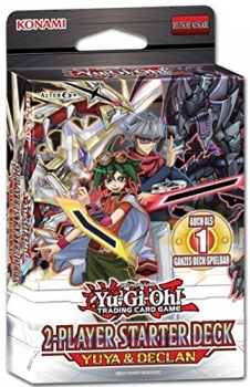 Yu-Gi-Oh! 2 Player Starter Deck: Yuya and Declan - Deutsch & 1.Auflage